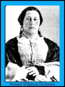 Susanna Wilkerson Dickinson