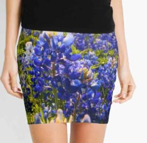 Bluebonnet Pencil Skirts