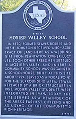 Mosier Valley School